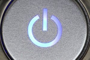 computer power button