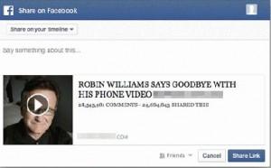 Robin Williams Scam
