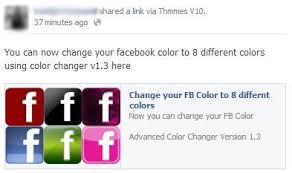 Fb Colour Changer