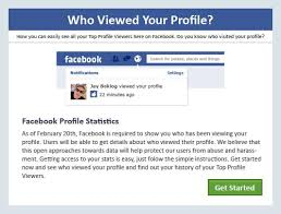Fb view profile