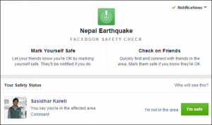Nepal Earthquake Facebook Scam