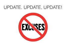 Update No Excuses