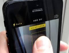 iPhone AE AF Lock